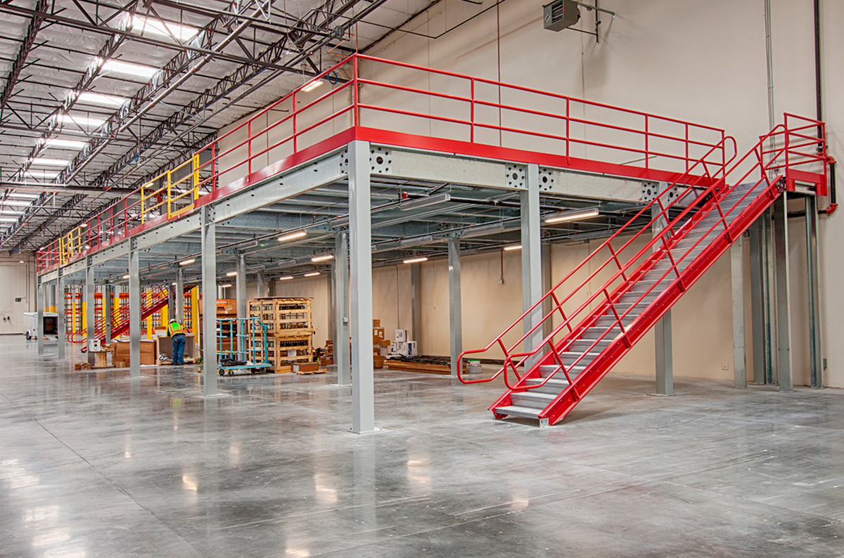 How Can a Mezzanine Help Increase Warehouse Storage, Productivity: Featured