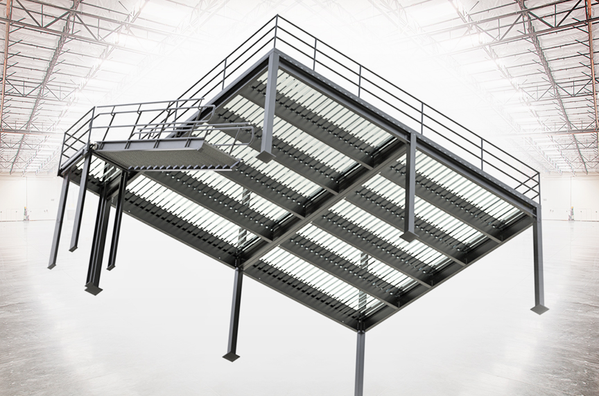 How Can a Mezzanine Help Increase Warehouse Storage, Productivity: What To Look For