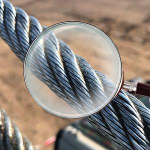 Crane Ropes Inspection