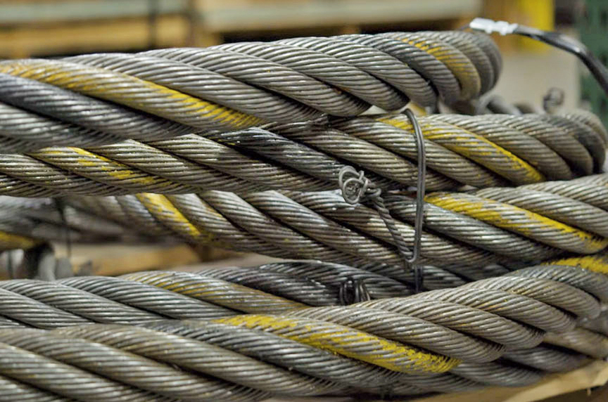 How Can I Identify Domestic Wire Rope Brands by Color Strand