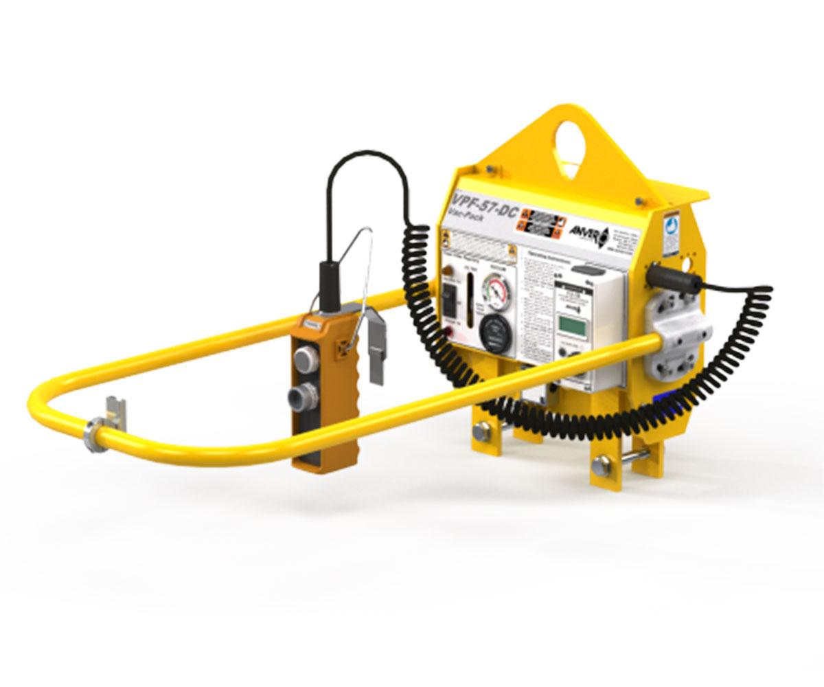 anver battery powered vacuum