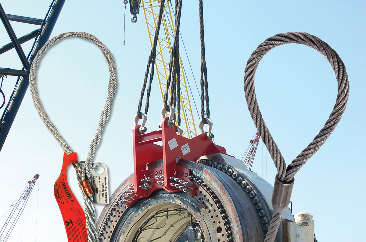 What Are Wire Rope Slings? Acronyms, Components, & Configurations: Featured