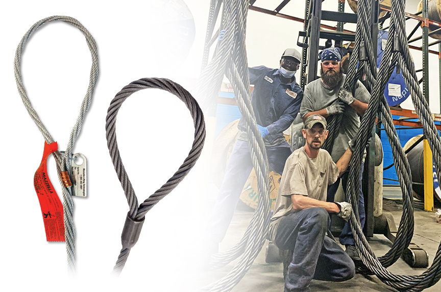 What Are Wire Rope Slings? Acronyms, Components, & Configurations: Types of Wire Rope Sling Eyes