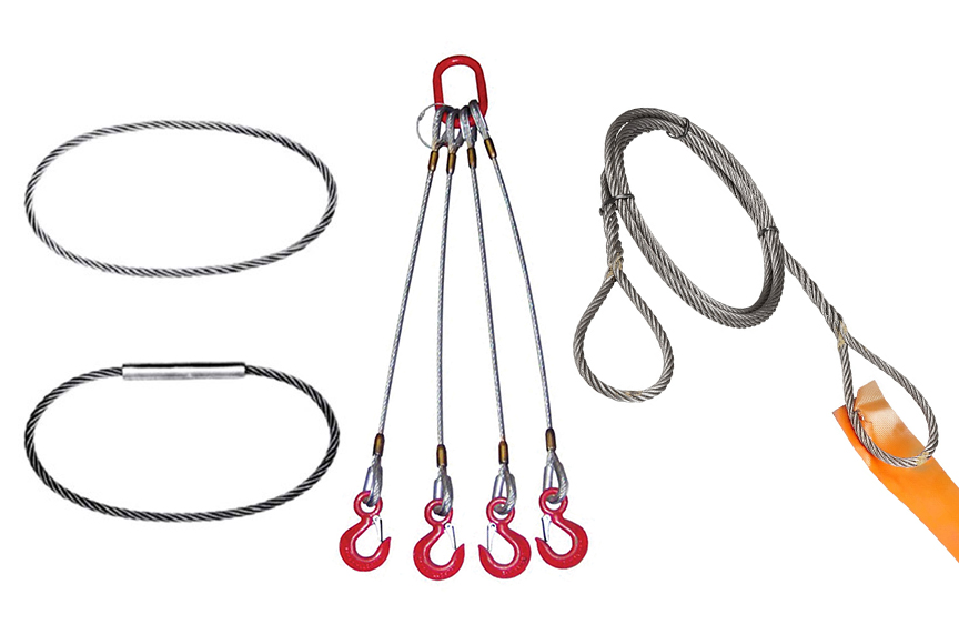 What Are Wire Rope Slings? Acronyms, Components, & Configurations: Unique Wire Rope Slings