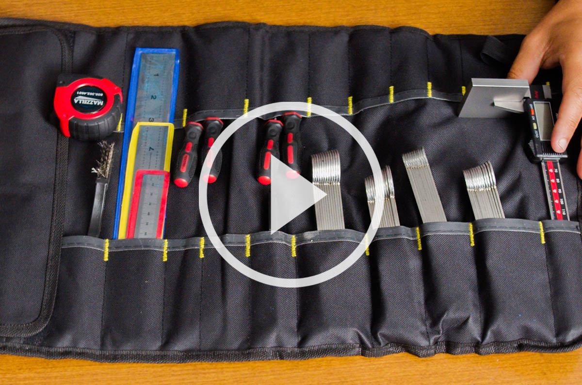 high performance crane rope inspection toolkit