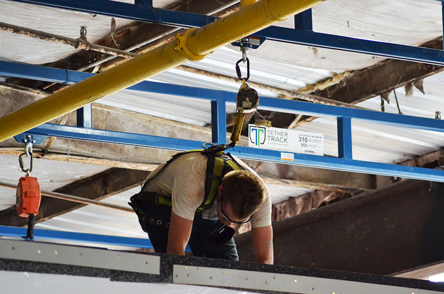 How a Mobile Home Manufacturer Became OSHA Fall Protection Compliant